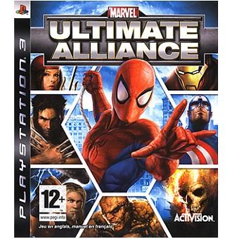 Marvel Ultimate Alliance PS3 jeu d'occasion