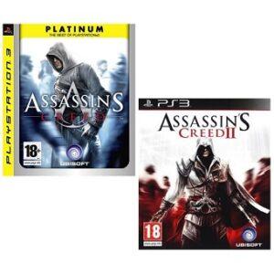 Assassin's Creed I + II jeu PS3 d'occasion