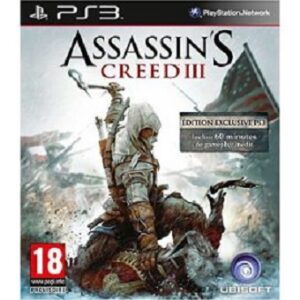 Assassin's Creed III Edition Exclusive jeu PS3 d'occasion
