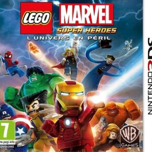 LEGO MARVEL SUPER HEROES L'univers en péril 3DS Neuf