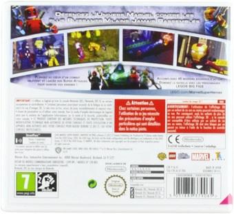 LEGO MARVEL SUPER HEROES L'univers en péril 3DS Neuf