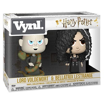Bellatrix et Voldemort FUNKO Pack de 2 Figurines Harry Potter FUNKO VYNL