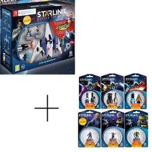 Starlink Battle for Atlas Pack de démarrage Nintendo Switch+6 pack additionnels