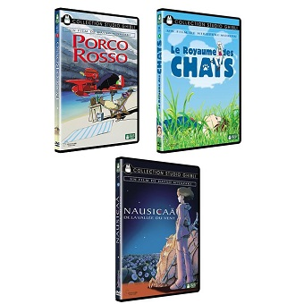3 DVD STUDIO GHIBLI 4, 7 et 10