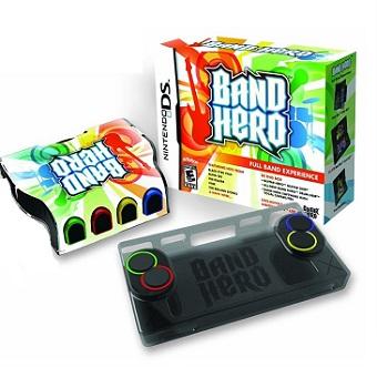 Band HERO Jeu DS avec accessoires.
