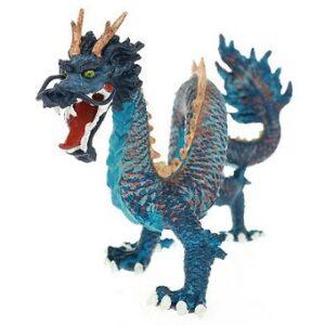 Le Dragon Chinois bleu figurine Plastoy.