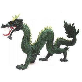 Le Dragon Chinois Vert figurine Plastoy.