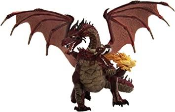 Dragon rouge à deux têtes figurine papo.