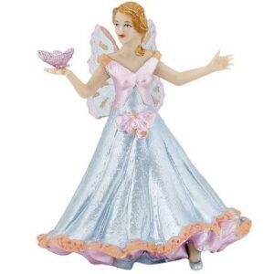 Elfe papillon bleu figurine papo.