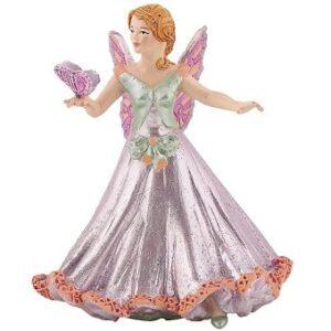 Elfe papillon rose figurine papo.