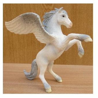 Pégase féerique figurine Schleich 2004.