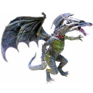 LE GRAND DRAGON Volant Figurine Plastoy.