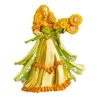 Belle figurine Princesse aux Tournesols papo.