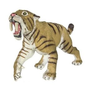 Tigre a dents de sabre Figurine Safari.