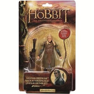 Legolas Vertefeuille figurine 10,5cm le Hobbit Neuve.