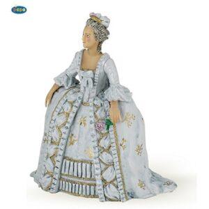 Marie-Antoinette belle figurine papo.