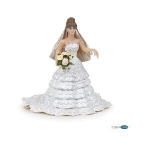 Mariée dentelle blanche papo