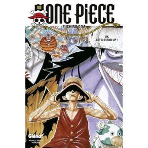 Manga One piece Tome 10 à 19.