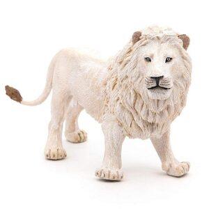 Grand lion blanc papo belle Figurine.