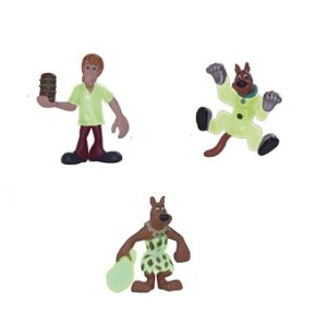 Scooby Doo 3 mini Figurines phosphorescentes d'occasion.