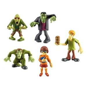 Scooby Doo 5 mini figurines Lot d'occasion.