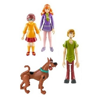 Scooby Doo Lot 4 Figurines d'occasion