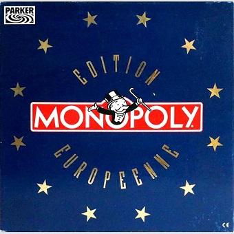 Monopoly édition européen.