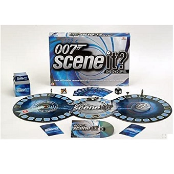 Scène It ? 007 Jeu avec DVD Mattel.