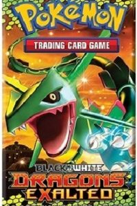Booster Rayquaza Pokemon Black White Dragons Exalted Booster Anglais 2012.