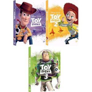 DVD Toys Story 1 a 3