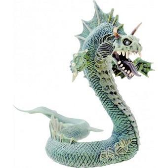 Le Grand Dragon Des Mers Vert Figurine Plastoy.